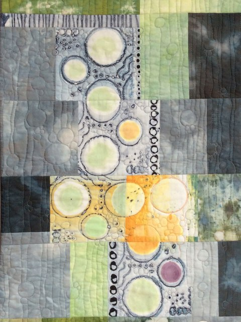 Effervescence #1 quilt