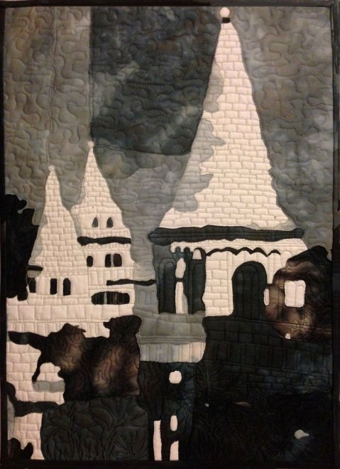 Fisherman's Bastion quilt