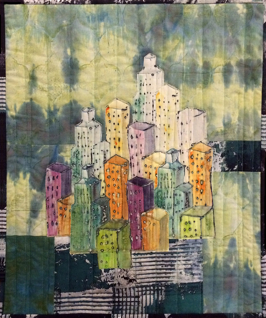 Movin' Downtown quilt