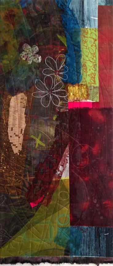 """""""Urban Detritus"""" quilt"""